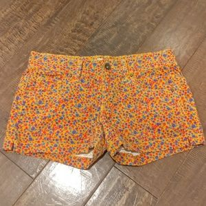 Floral Corduroy Mossimo Supply Co shorts size 1